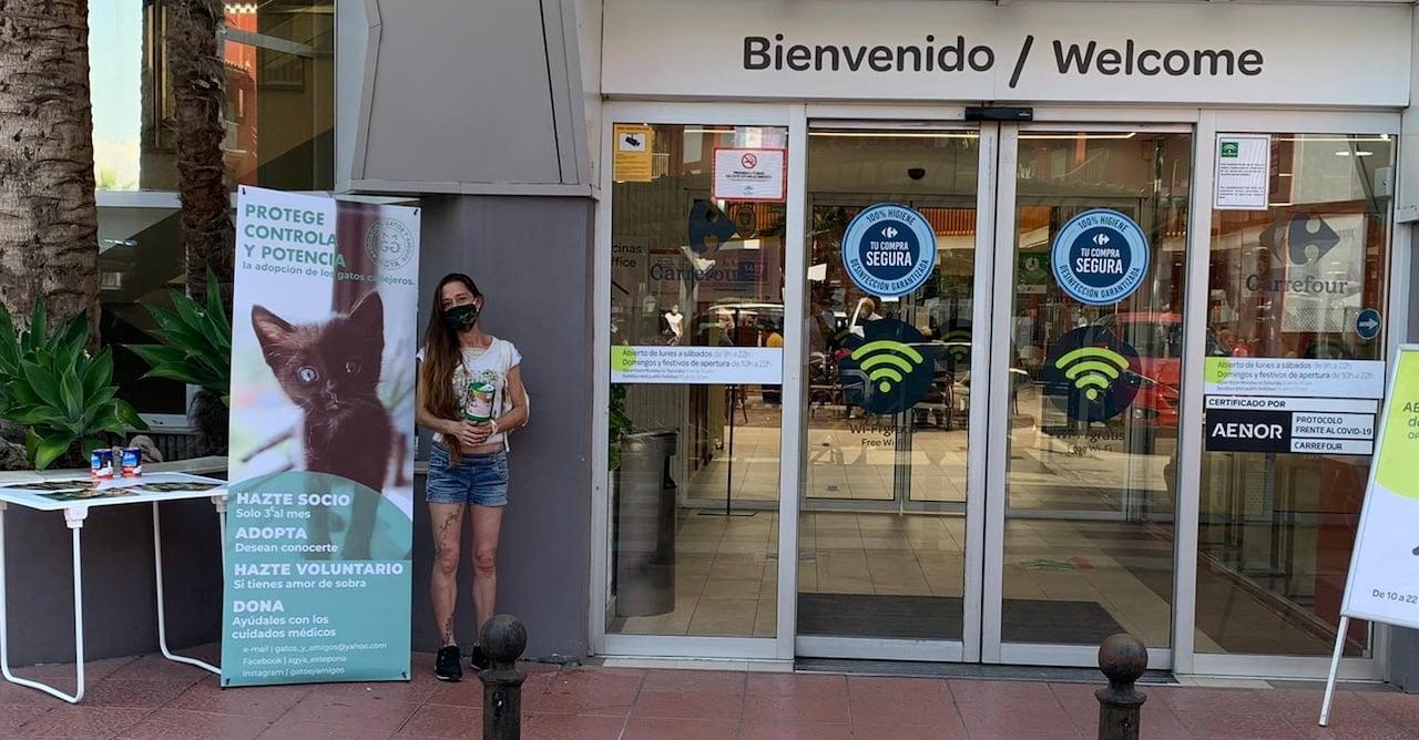 At Carrefour Estepona